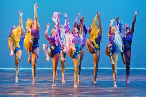 力迈中美国际学校舞蹈